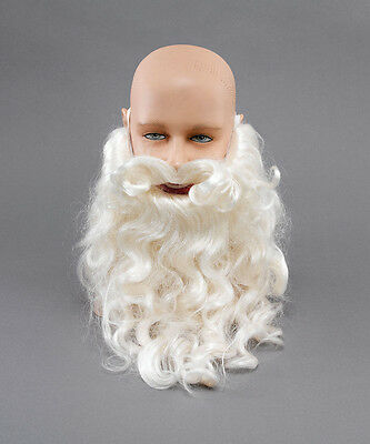 "Santa Father Christmas 10"" Beard Santa Claus Men's Costume Accessory"
