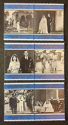 St. Helena Stamps - Scott# 697A, 699A, 701A MINT NEVER HINGED!