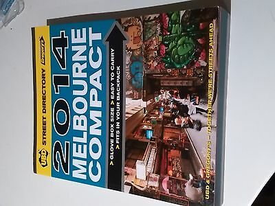 Melbourne Compact Street Directory 12th 2014 by UBD Gregorys