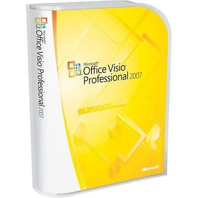 Microsoft Office Visio Professionnel 2007 Multilingue