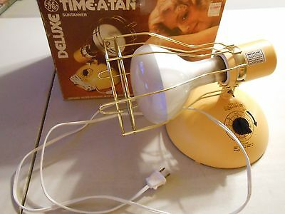 Vintage GE Time-A-Tan Deluxe Suntanner RSK6A!!!