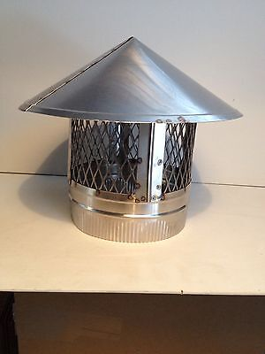 10 Inch Stove Pipe Stainless Steel Chimney Cap