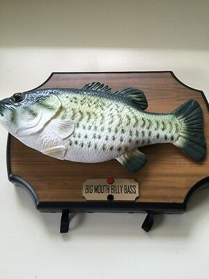 New big mouth billy bass singing fish take me to the for Dont worry be happy fish