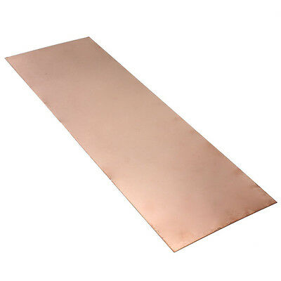 1 Pcs Copper Sheet 0.5mm*300mm *100mm Pure Copper Metal Sheet Foil LW