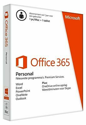 Upgrade to Microsoft Office 365 Personal