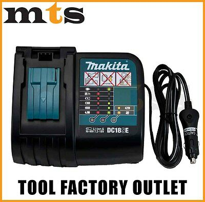 Brand New Genuine Makita  Lxt Dc18Se 12V Car Charger For Bl1830 Dc18Ra