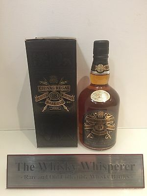 CHIVAS REGAL 750ml 18 Year Old Scotch Whisky - Numbered Bottles with Box