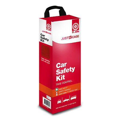 St John Just In Case Car Safety Kit