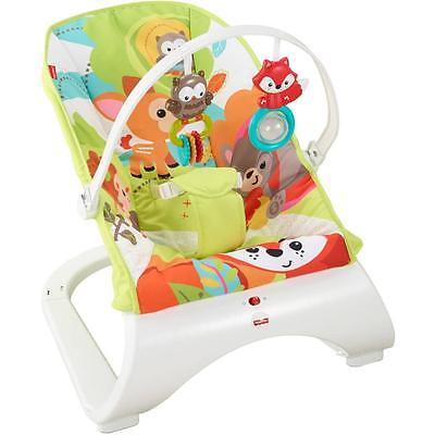 Fisher Price Baby Bouncer Woodland Friends Comfort Curve