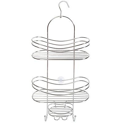 Shower Wall Caddy - Stainless Steel - Rust Free Guarantee