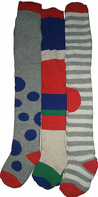 BNWT Next 3 Pack Spot Tights 12-18 Months, 18-24 Months, 5-6 Years