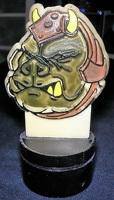 Star Wars Original 1983 Stamper Jabba's Gamorrean Guards  Bust Head Vintage RARE