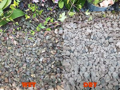 1-30kg Iridescent Blue Granite Gravel Chippings Pathway Deter Weed Top Dressing