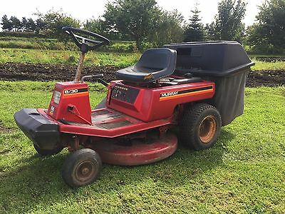 Mountfield 8/30 Petrol Ride On Lawnmower Briggs And Stratton Rough Cut Topper
