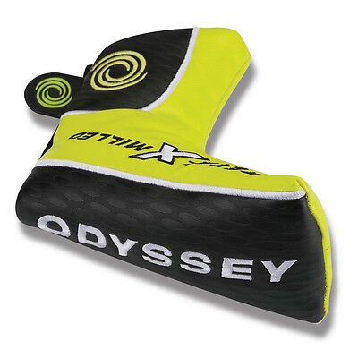 Odyssey Metal X Milled Blade Putter Headcover with Magnetic Closure NEW