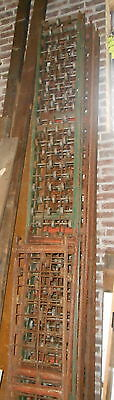 Industrial Steel Conveyor Roller 10 Foot Section Architectural Salvage