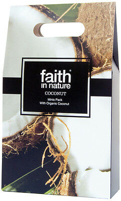 Faith In Nature Coconut Minis Gift Pack