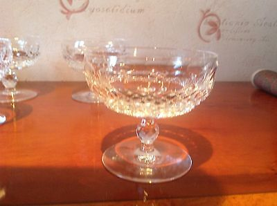 Waterford Crystal Colleen Short  Champagne Saucers/glasses (up to 6 available)