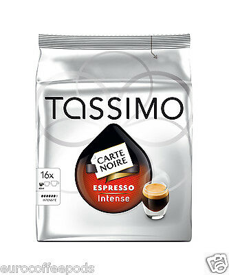 Tassimo Carte Noire Expresso Intense Coffee - 5 Pack 80 T disc / Servings