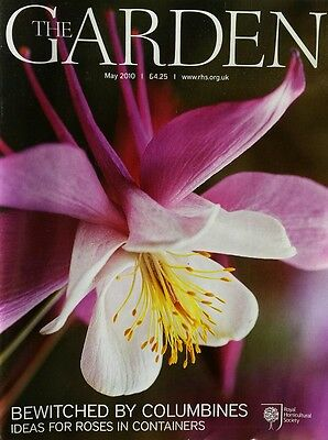 RHS The Garden Magazine May 2010 including Columbine Cucumbers and Orchids