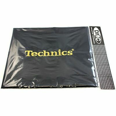 Technics Deck Cover (black with gold embroidered logo)
