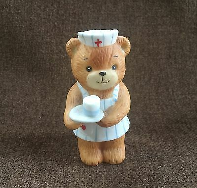 Enesco Lucy and Me Nurse Bear 2 Inch Lucy Riggs