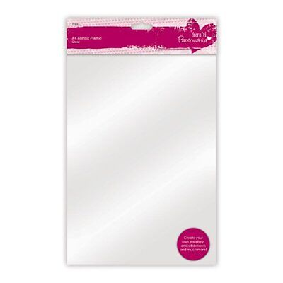 Papermania A4 10-Piece Plastic Plastic Shrink Sheet, Clear