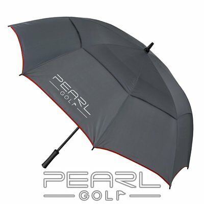 Pearlgolf  - Umbrella - Double Canopy - Grey/anthracite