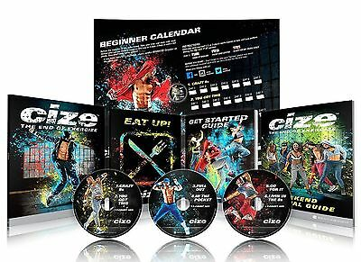 HOT Brand New ClZE Dance Workout 6 DVD The End of Exercise + Weight Loss Series