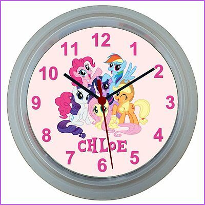 Personalised MY LITTLE PONY WALL CLOCK