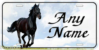 Horse Personalized Aluminum Any Name Novelty Car Auto License Plate H12