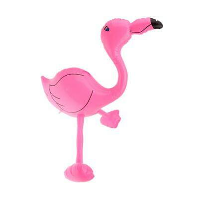 Inflatable 65cm Pink Flamingo Tropical Hawaiian Beach Hen Stag Party Props