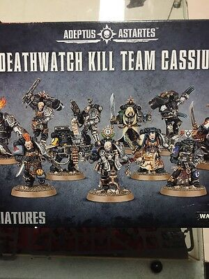 Kill Team Cassius - Space Marines From the Deathwatch Overkill Set unpainted