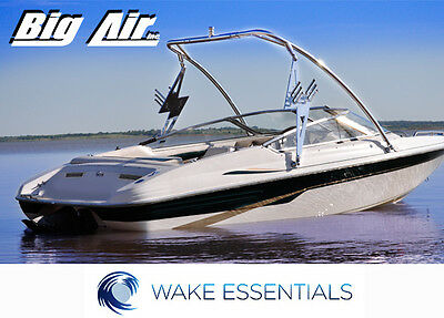 Wakeboard Tower Black Big Air Storm Tower from WAKE ESSENTIALS - 5 yr warranty