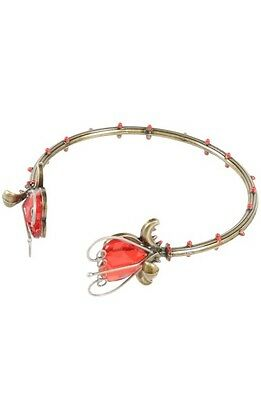 Disney Alice Through The Looking Glass Rose Thorn Cuff Bangle Bracelet NWT!