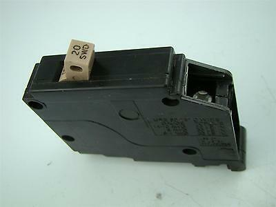 CUTLER HAMMER C120 BR120 1-POLE 20A 120//240V HACR Type CIRCUIT BREAKER E-7819-T