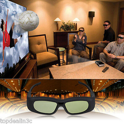 Universal 3D Active Shutter Glasses Brille Bluetooth For Sony/Panasonic/Sharp TV
