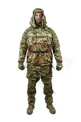 """Camouflage jacket and pants set """"Scout 2"""" Multicam Red Army size L"""