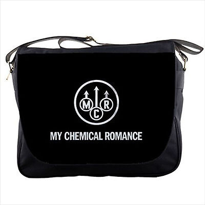 My Chemical Romance MCR logo on Messenger Bag shoulder sling flap bags NEW