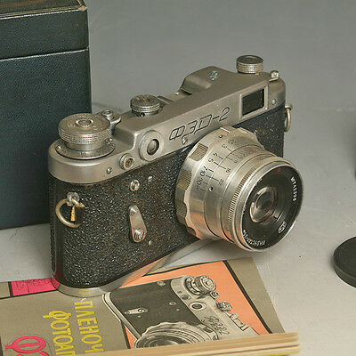 ♣ Fotocamera vintage a telemetro FED 2 (Type d) con Industar 2.8 50