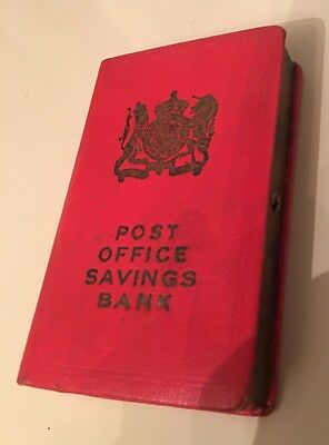 Post Office Savings Book Coin Bank from the United Kingdom