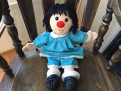"""Molly Big Comfy Couch Rag Doll 17"""" Tall Rare"""