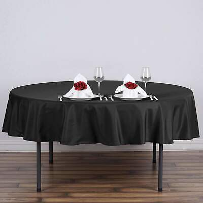 70 in. Polyester Seamless Tablecloth~Wedding~NEW