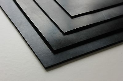 Rubber Sheet ( 2mm Thick ) - Various Sizes Available - Sealing & General Purpose