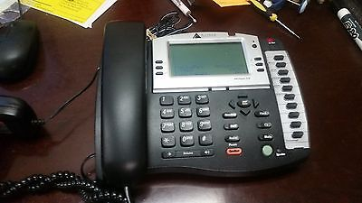 Lot of 5 AltiGen AltiTouch 510 AT510 Charcoal LCD Display Office Phone