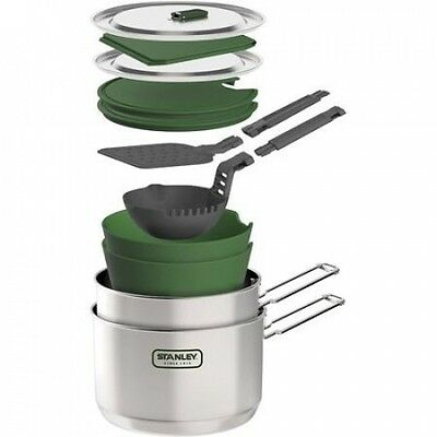 Stanley Adventure 2 Pot Prep and Cook Set. Delivery is Free