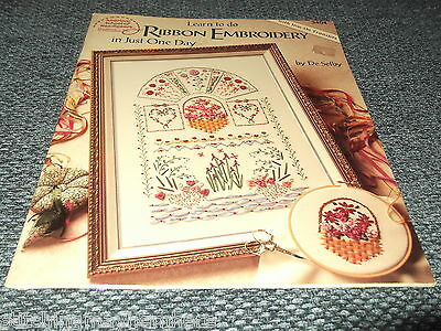 Learn to do Ribbon Embroidery by American School of Needlework - Book 3404