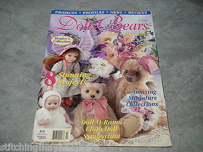 Australian Dolls, Bears and Collectables Vol. 8 No. 2 - great items to make