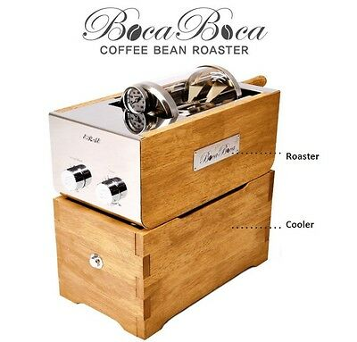 BOCABOCA Coffee Bean Roaster 500 for Home Small Cafe Simple Roasting Infrared