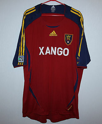 Real Salt Lake USA player issue formotion home shirt 2007 Adidas XXL